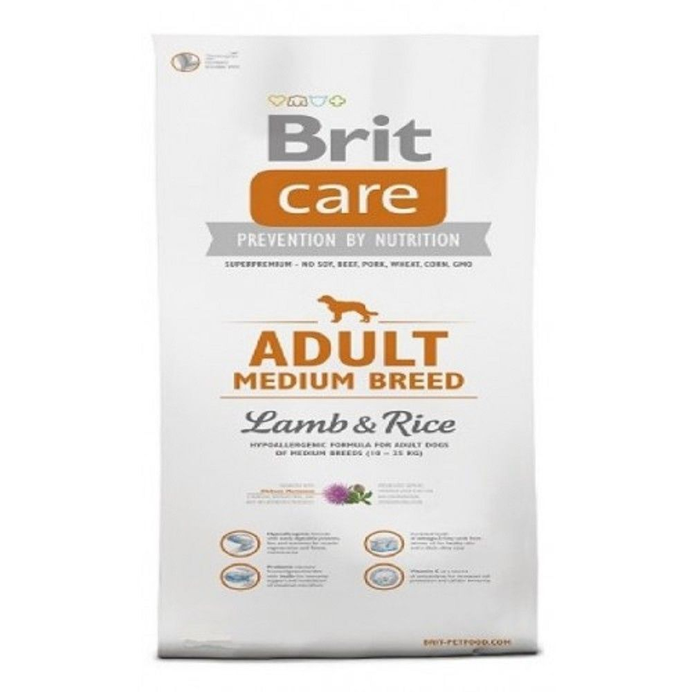 Brit care 3kg Adult L+R MB