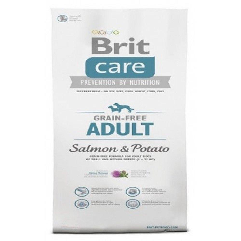 Brit care 3kg Adult Salmon+Potato grain-free