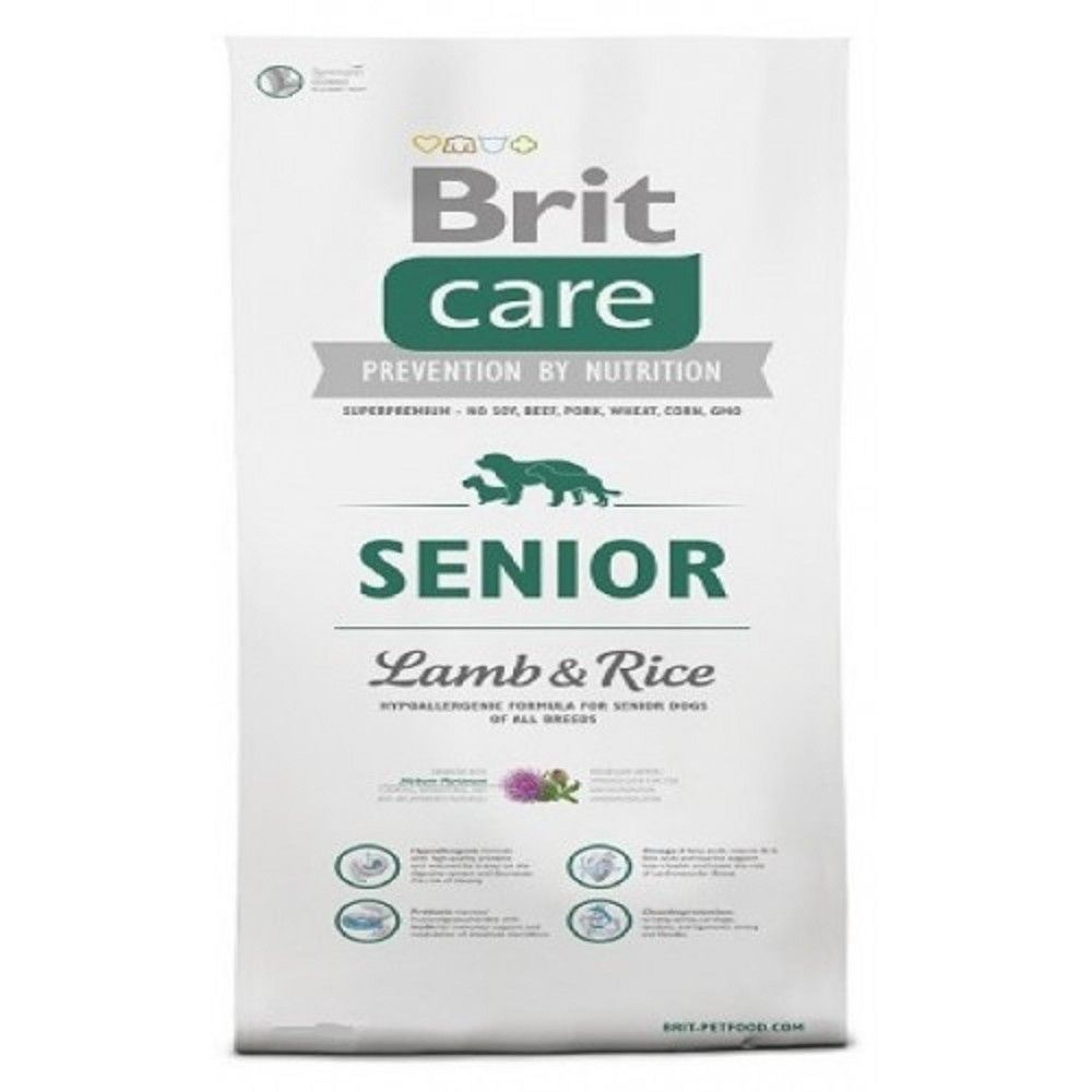 Brit care 3kg Senior L+R