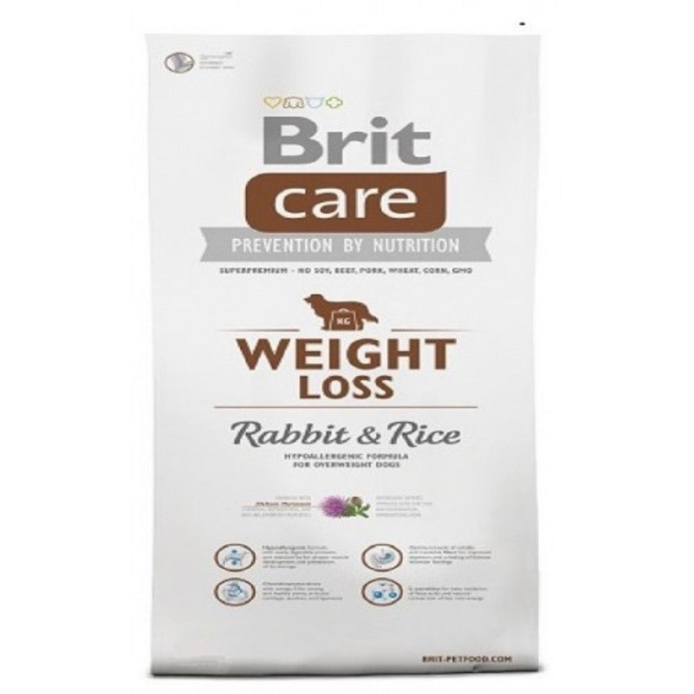 Brit care 3kg Weight Loss Rabbit+Rice