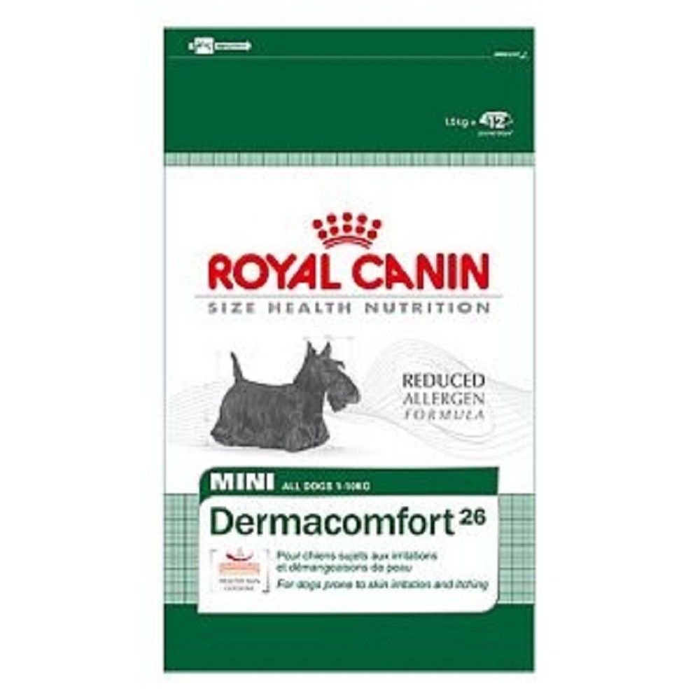Royal Canin 10kg mini Dermacomfort dog