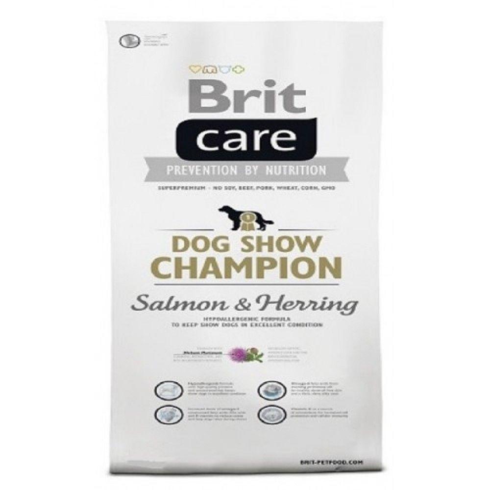 Brit care 1kg Adult show Champion Salmon+Herring