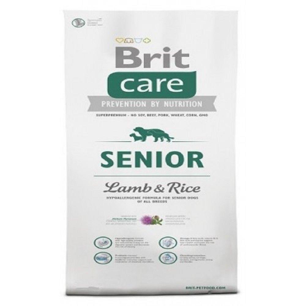 Brit care 12kg Senior L+R