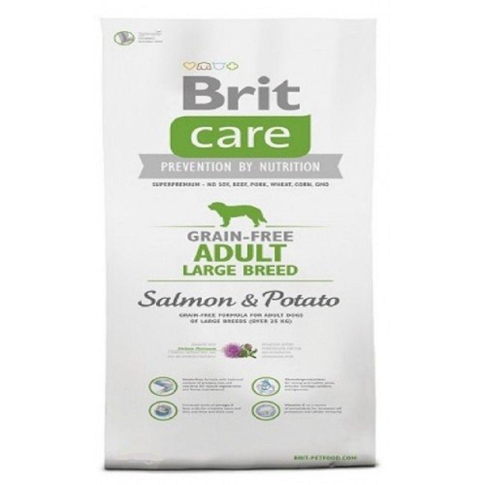 Brit care 3kg Adult LB salmon potato grain-free