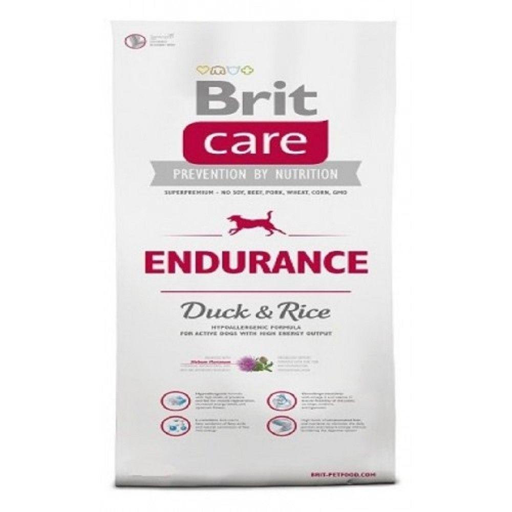 Brit care 3kg Endurance Duck+Rice