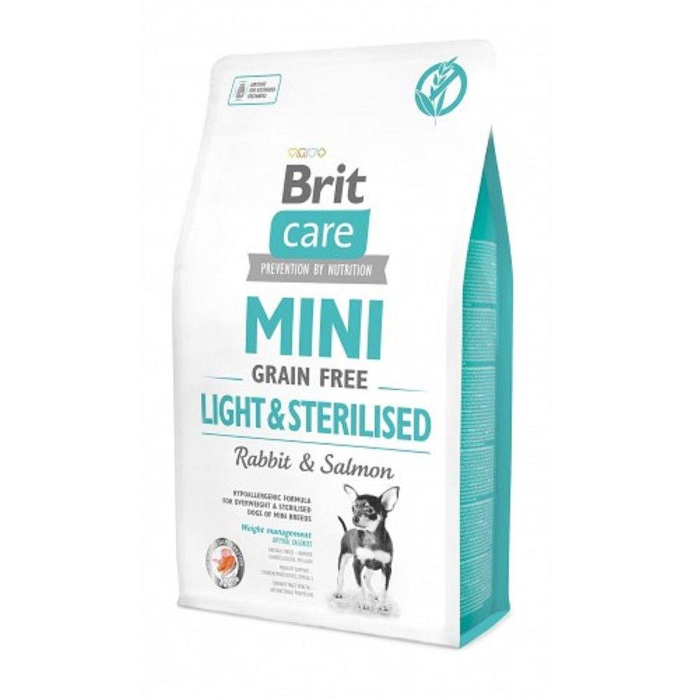 Brit Care Mini 2,0kg Light Sterilised grain free