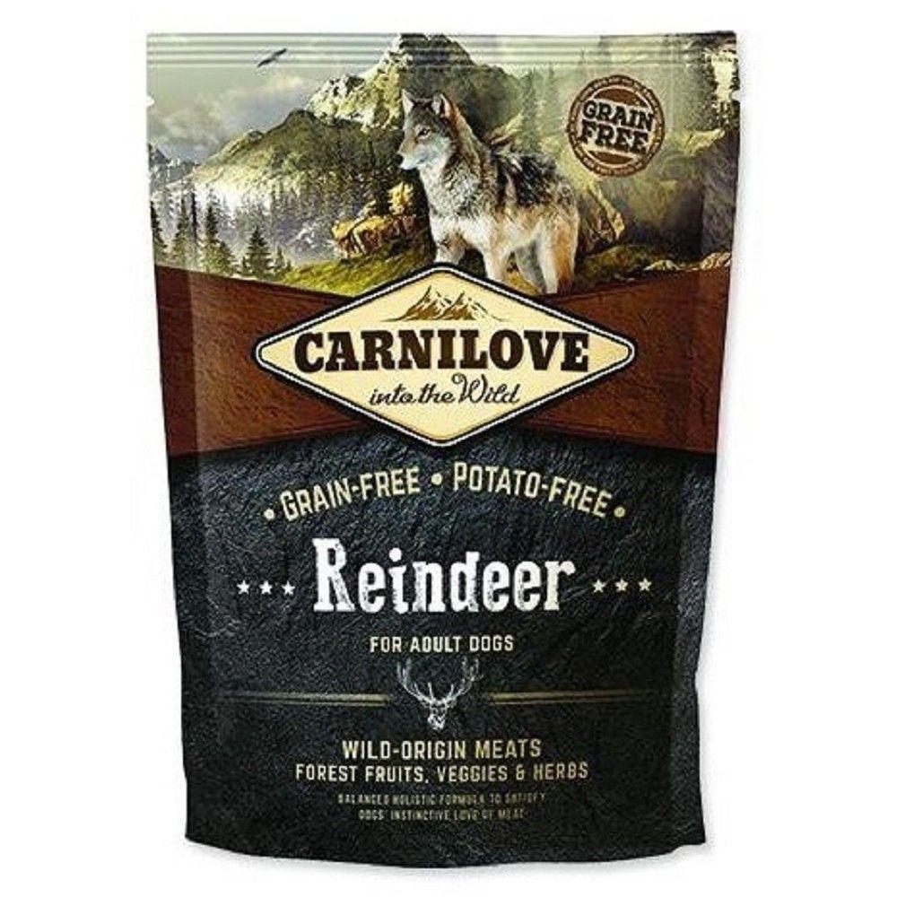 Carnilove 1,5kg Adult Reindeer(sobí maso) Ostatní