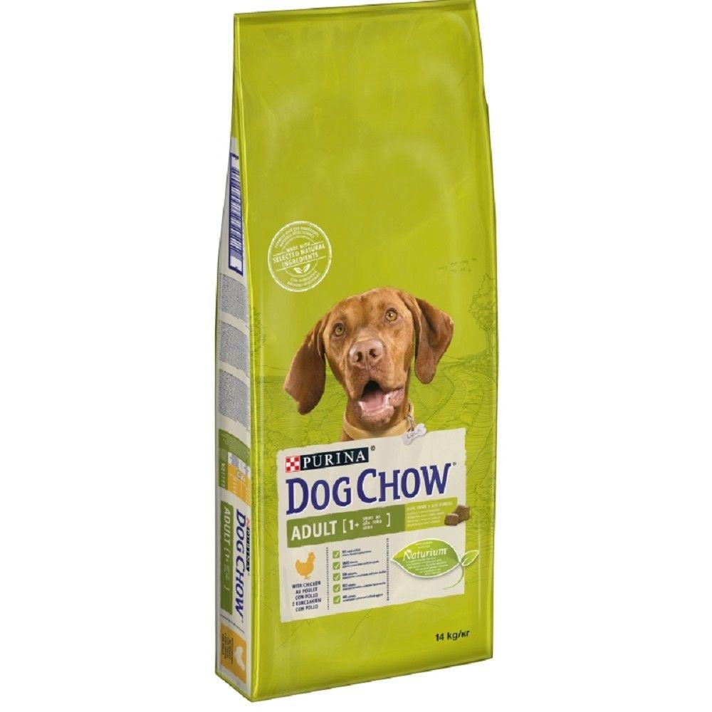 Purina Dog Chow 11+3kg Adult kuře