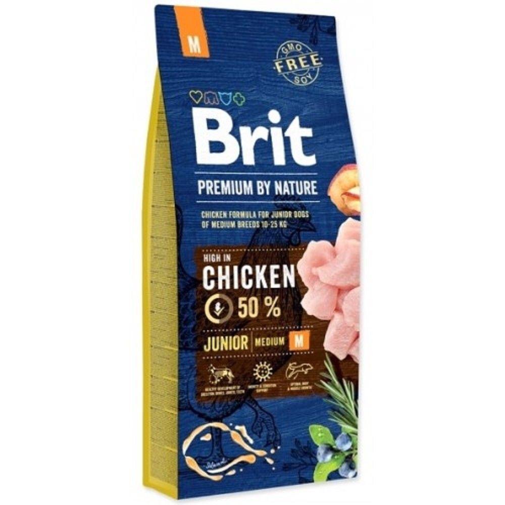 Brit 15kg premium Nature Junior M