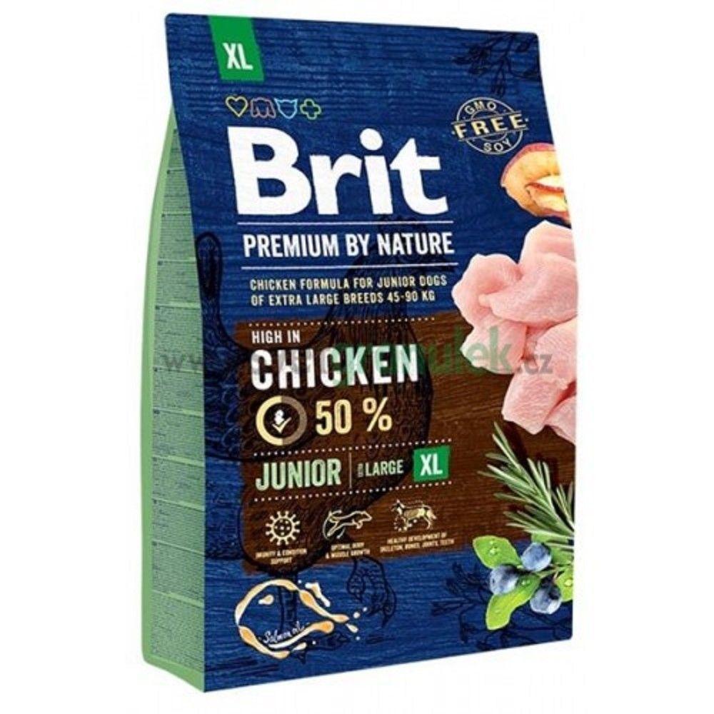 Brit 3kg premium Nature junior XL