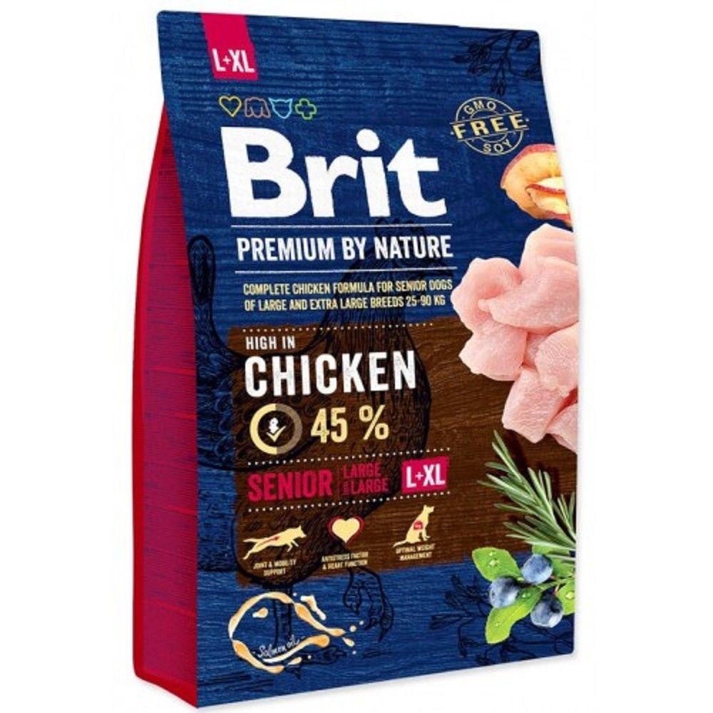 Brit 3kg premium Nature senior L/XL