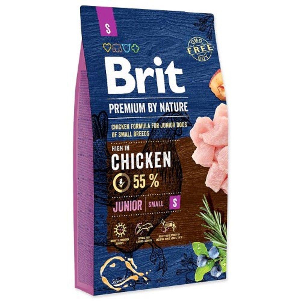 Brit 8kg premium Nature Junior S