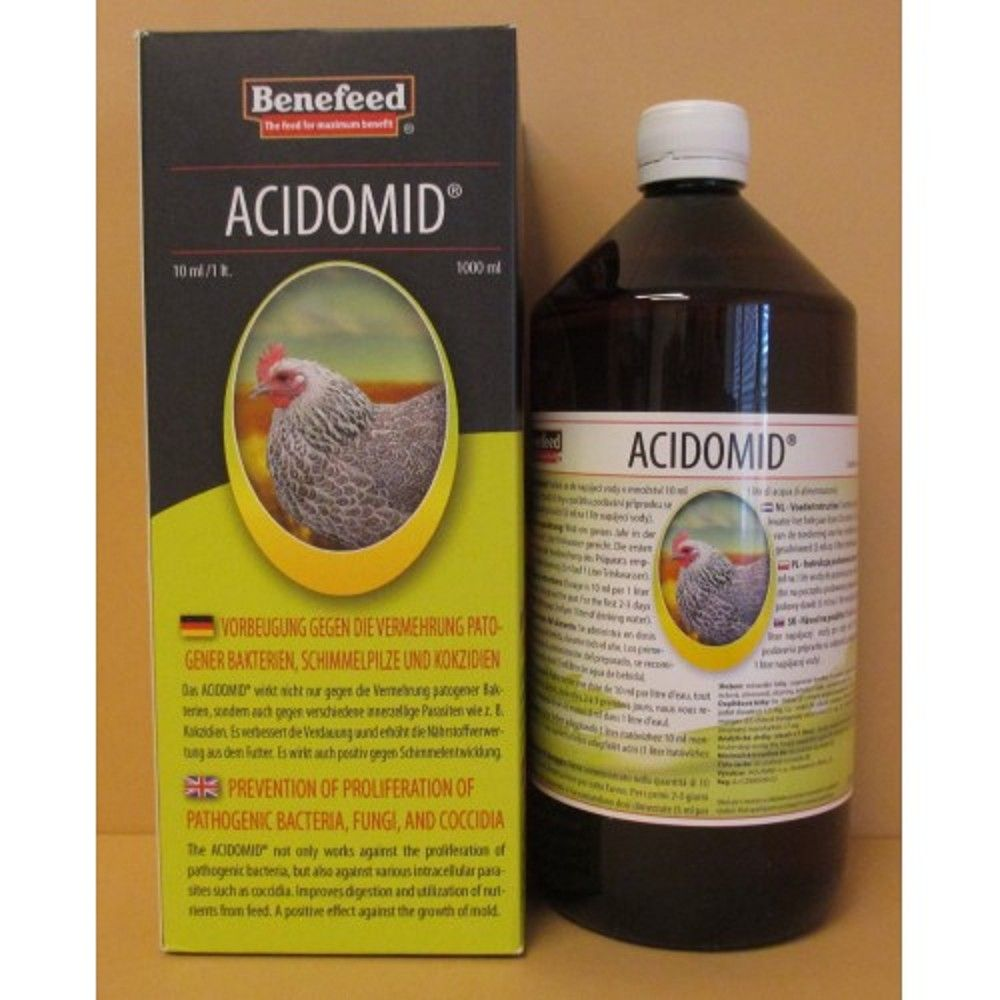 Acidomid D drůbež 1l Ostatní