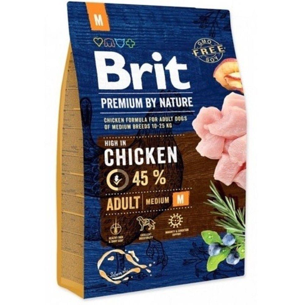 Brit 1kg premium Nature Adult M