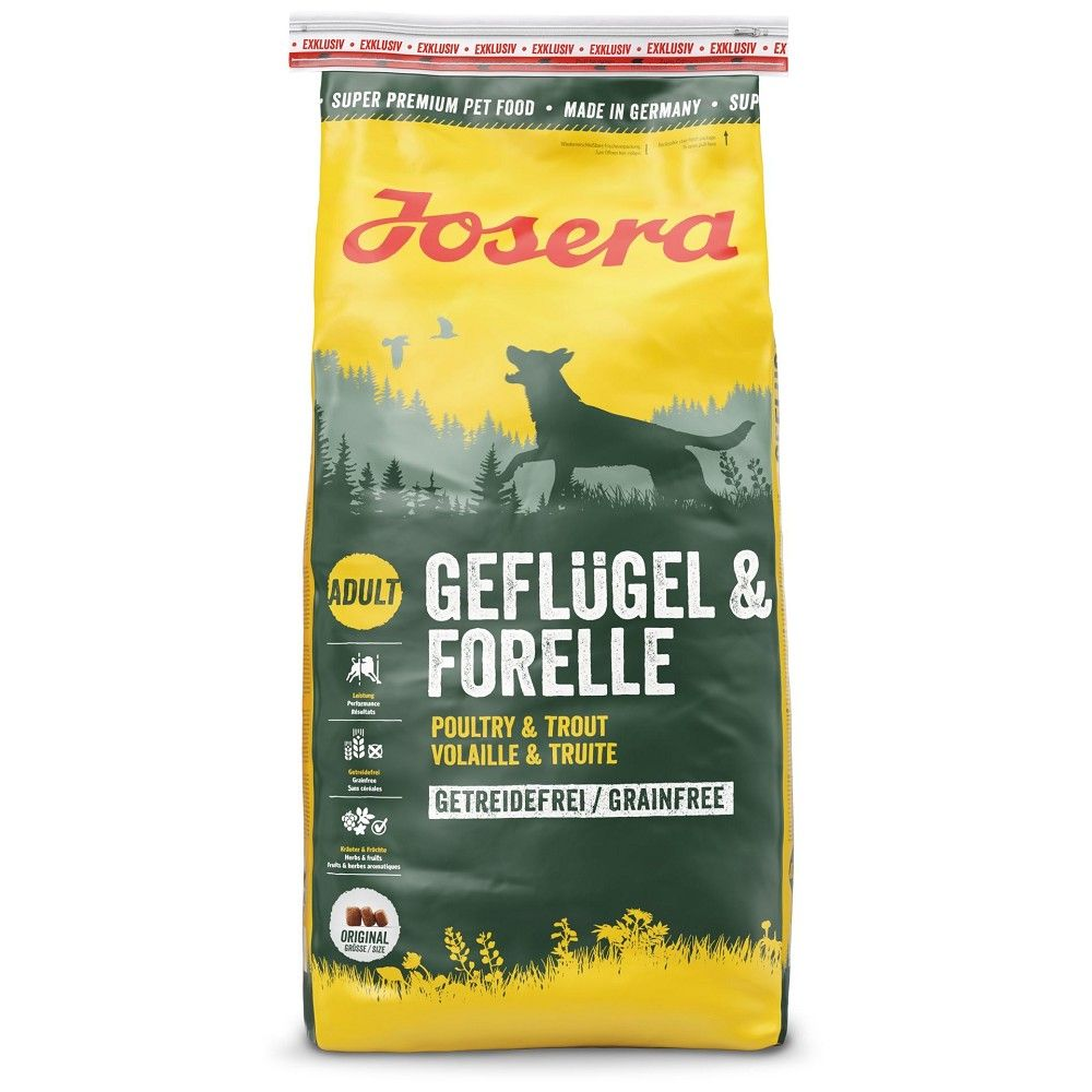 Josera 15kg Geflügel/Forelle
