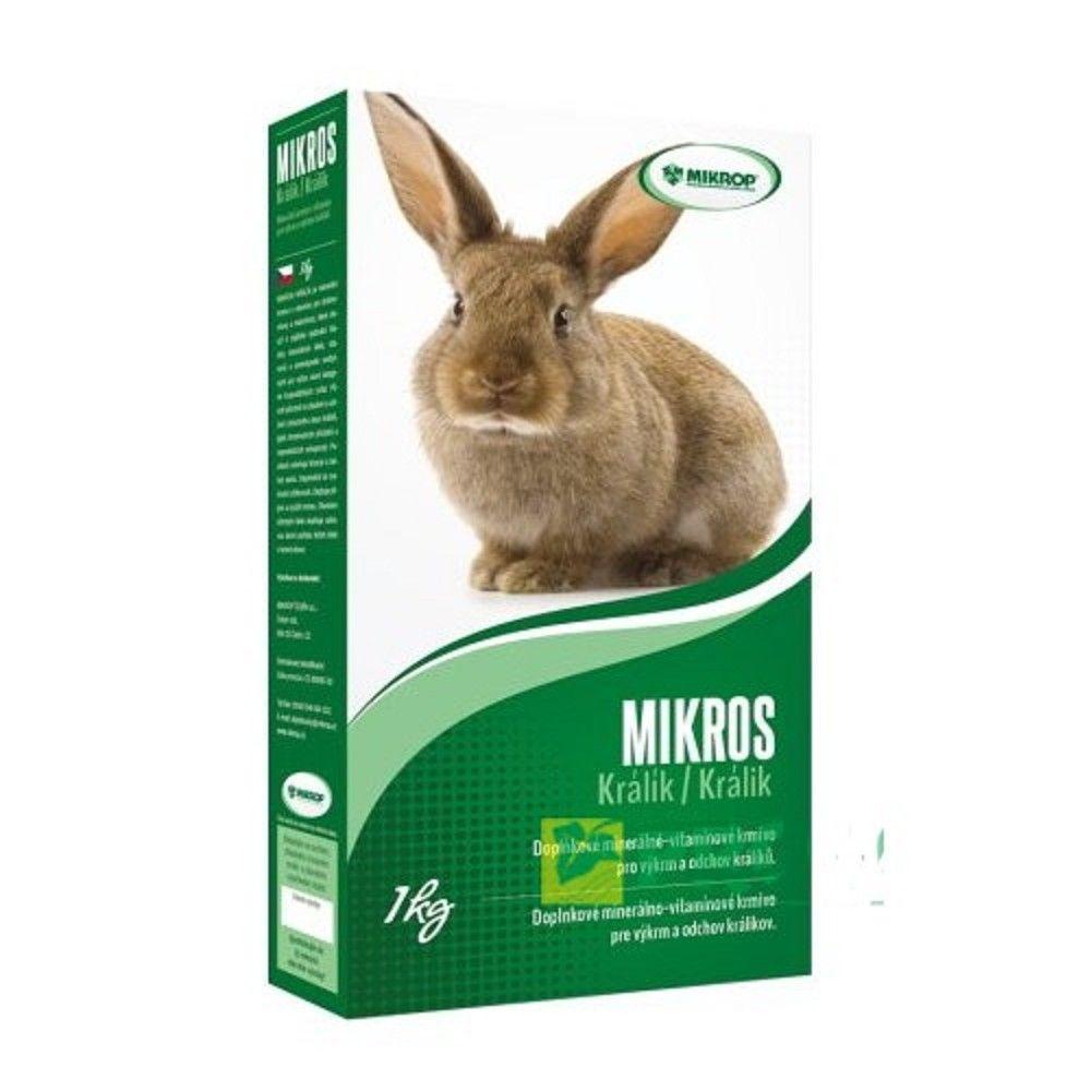 Mikros 1kg králík Ostatní