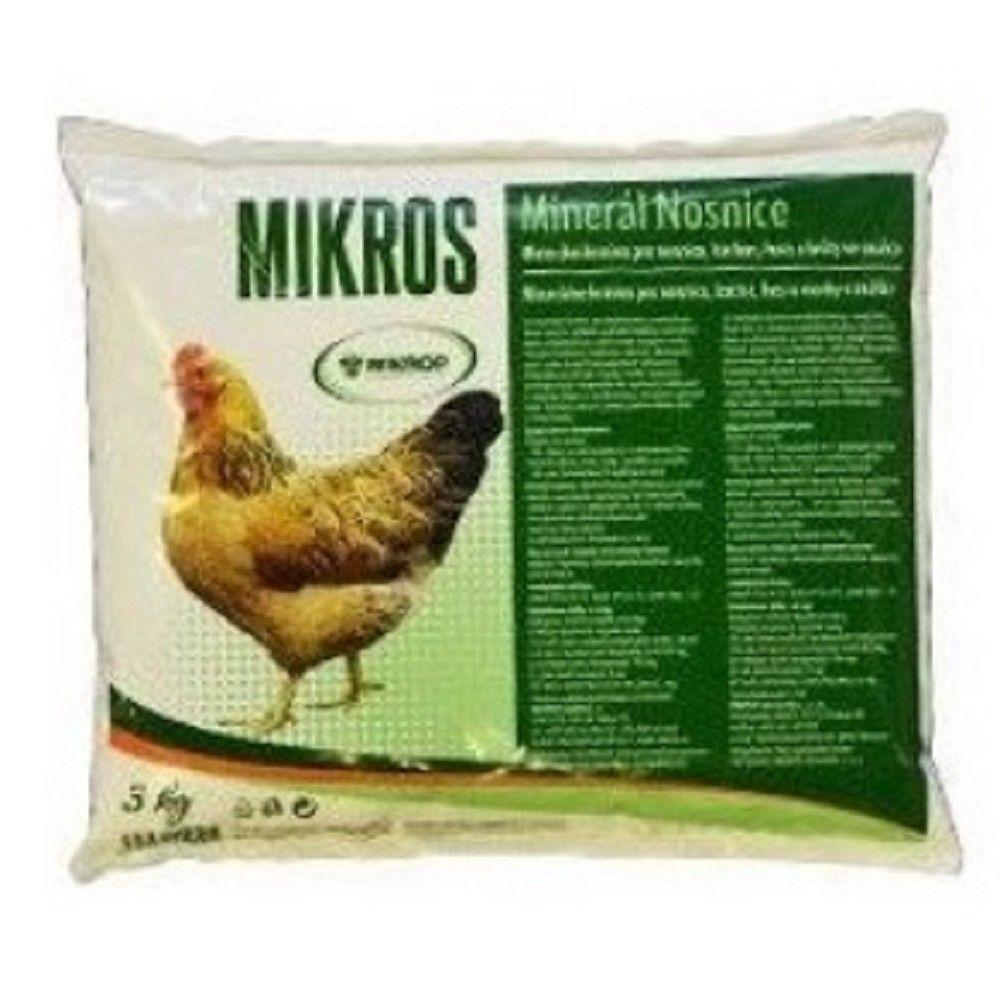 Mikros 3kg DN-doplňkové miner. krmivo pro nosnice Ostatní