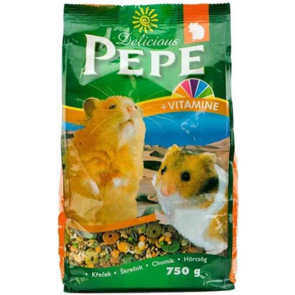 Pepe 750g křeček + vitamíny Ostatní