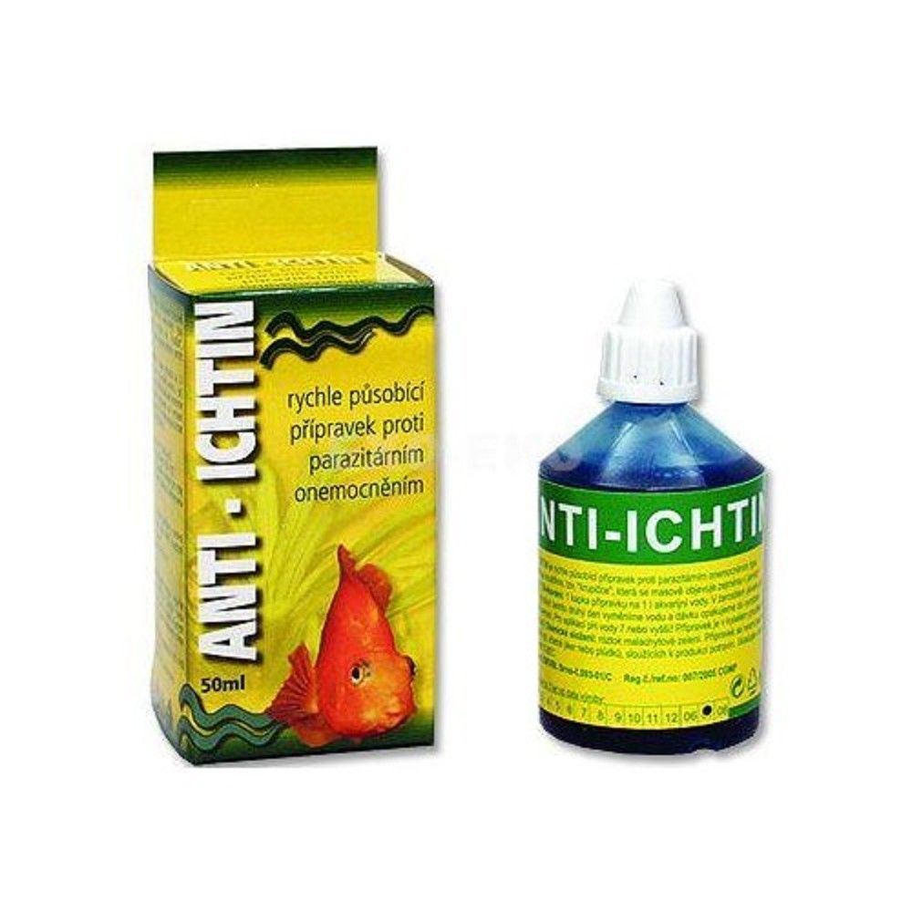 Anti-ichtin 50ml léč.na krupičku Ostatní