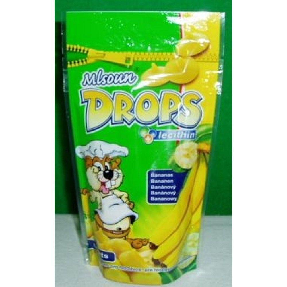 Drops 75g banán/lecit. sáček hlod. Ostatní