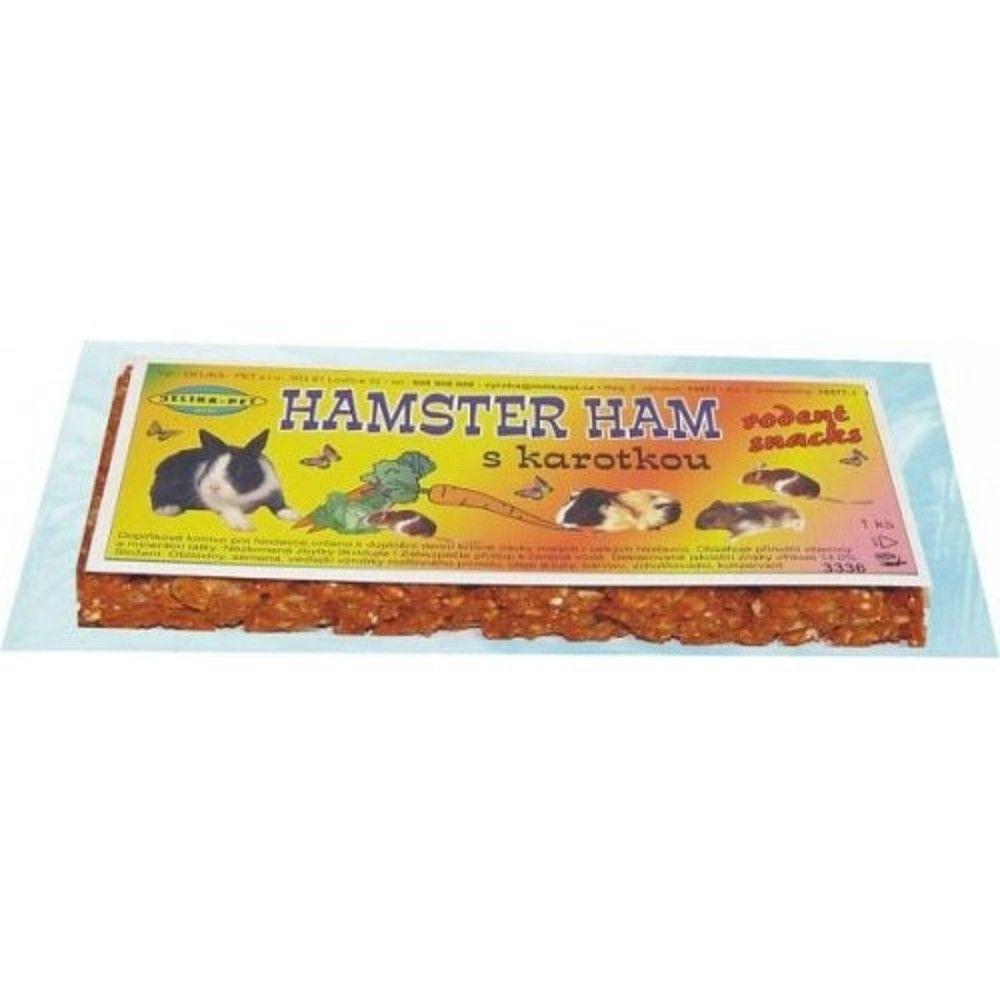 Hamster Ham s karotenem pro hlod.2ks Ostatní