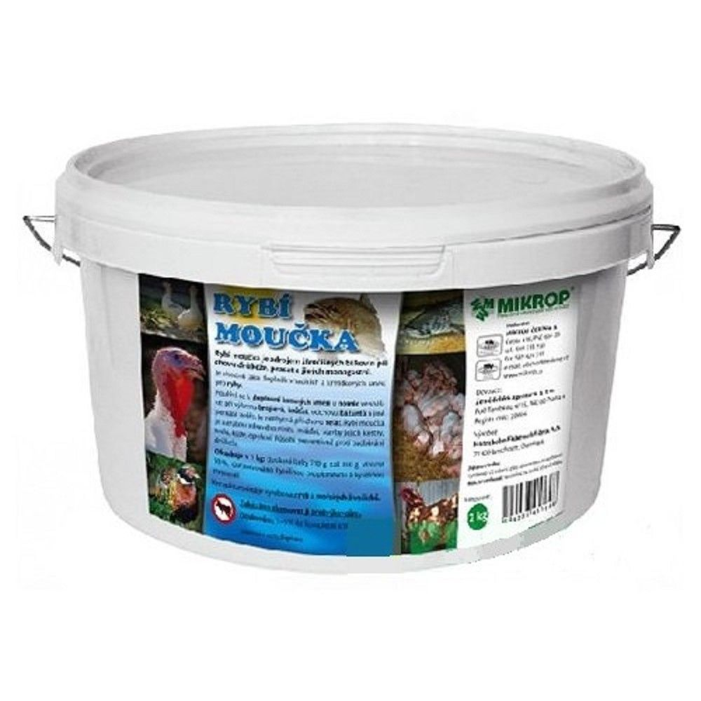 Rybí moučka 2kg kbelík Ostatní