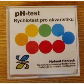 Test pH-rychlotest pro akvaristiku
