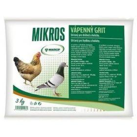 Vápenný grit 3kg pro drůbež a holuby
