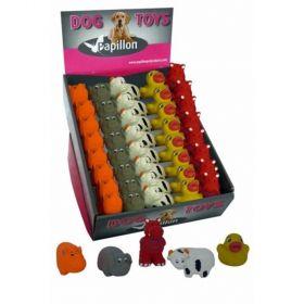 Latex hračky-mini zoo zvířát 8-10cm