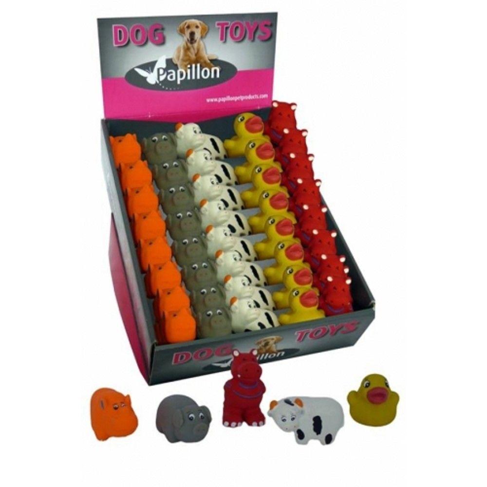 Latex hračky-mini zoo zvířát 8-10cm Ostatní