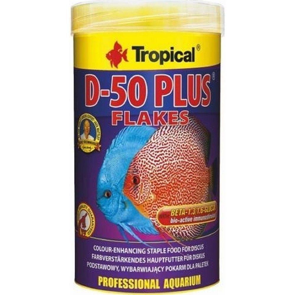 Tropical D-50 Plus 1000ml vločky pro terčovce Ostatní