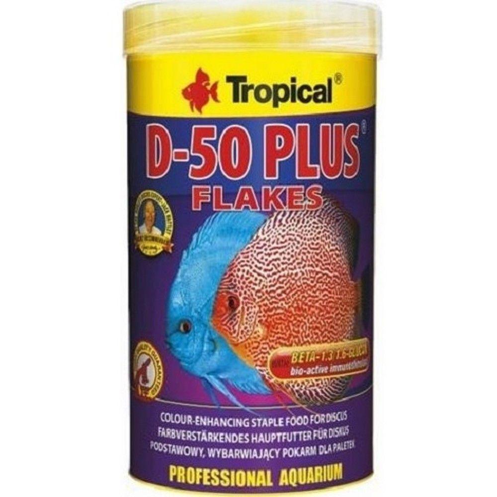 Tropical D-50 Plus 250ml vločky pro terčovce Ostatní