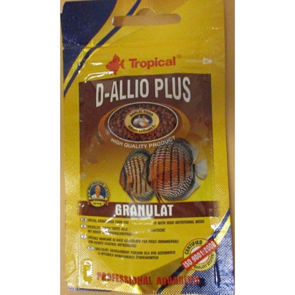Tropical D-Allio Plus 22g granulát Ostatní