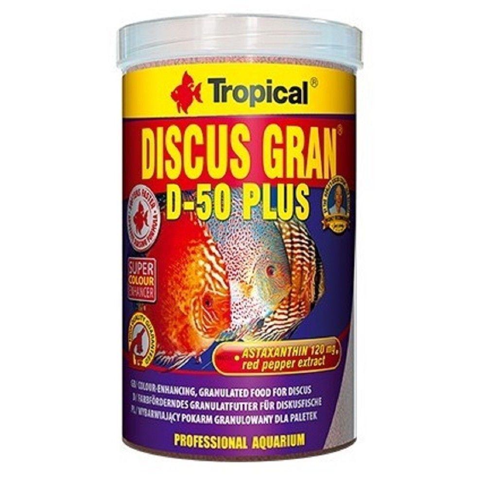 Tropical Discus Gran D-50 Plus 100ml Ostatní