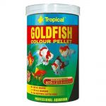 Tropical Goldfish colour pellet 250ml