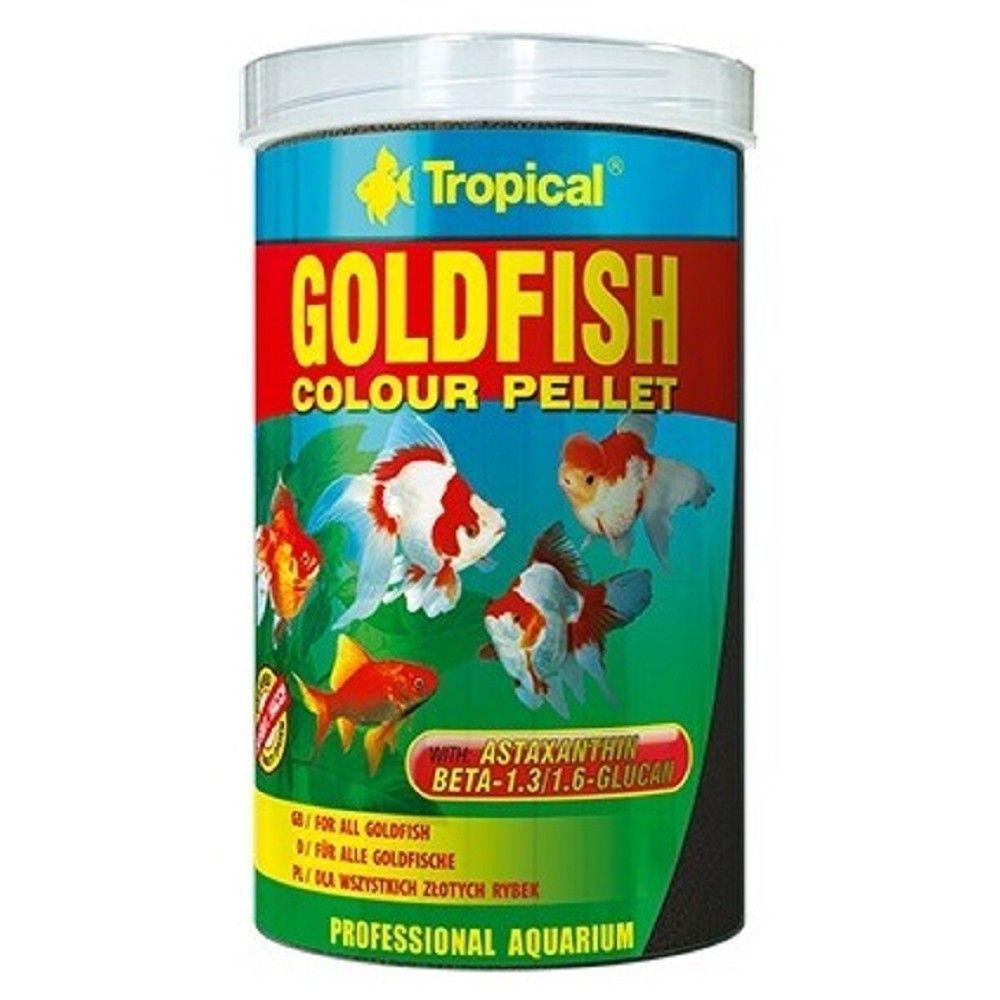 Tropical Goldfish colour pellet 250ml Ostatní