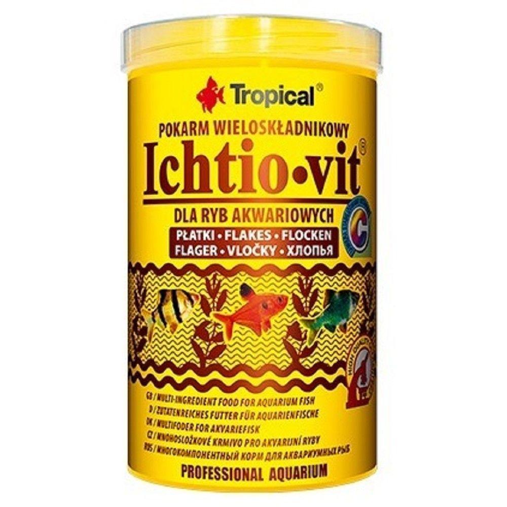 Tropical Ichtio-Vit 1000ml vločky Ostatní