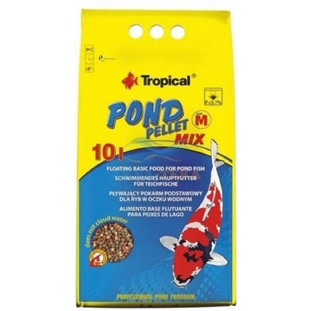 Tropical Pond Pellet Mix 10l sáček Ostatní