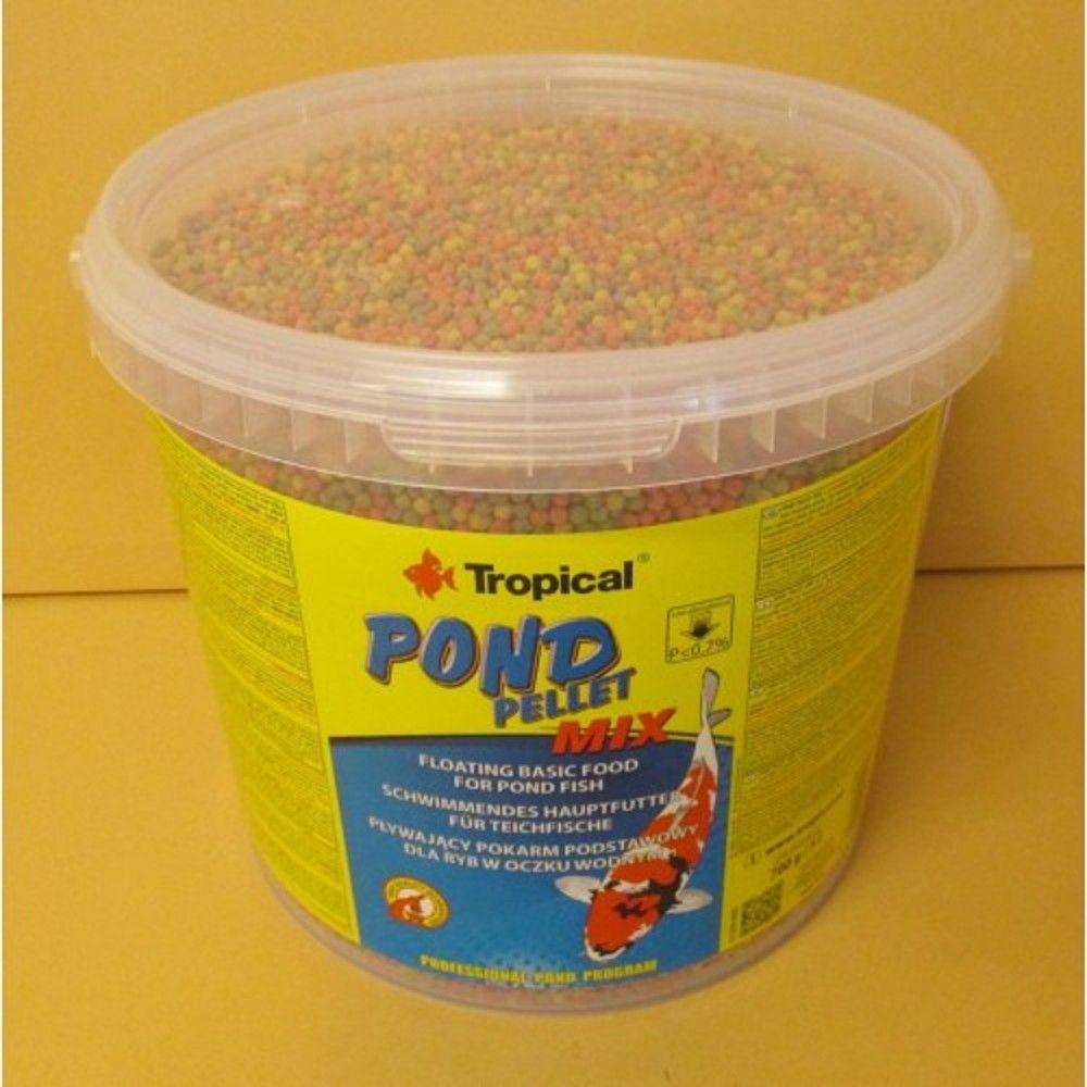 Tropical Pond Pellet Mix 5l kbelík Ostatní