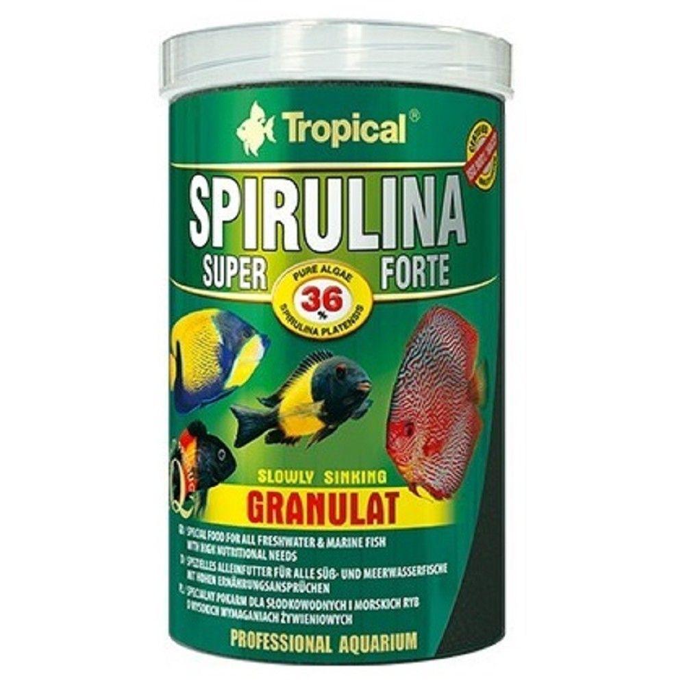 Tropical Spirulina Super Forte 100ml granulát Ostatní
