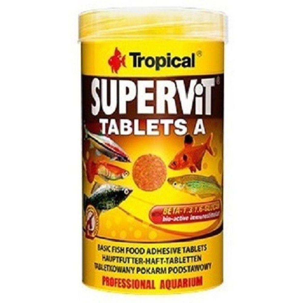 Tropical Supervit 50ml tablety A na sklo Ostatní
