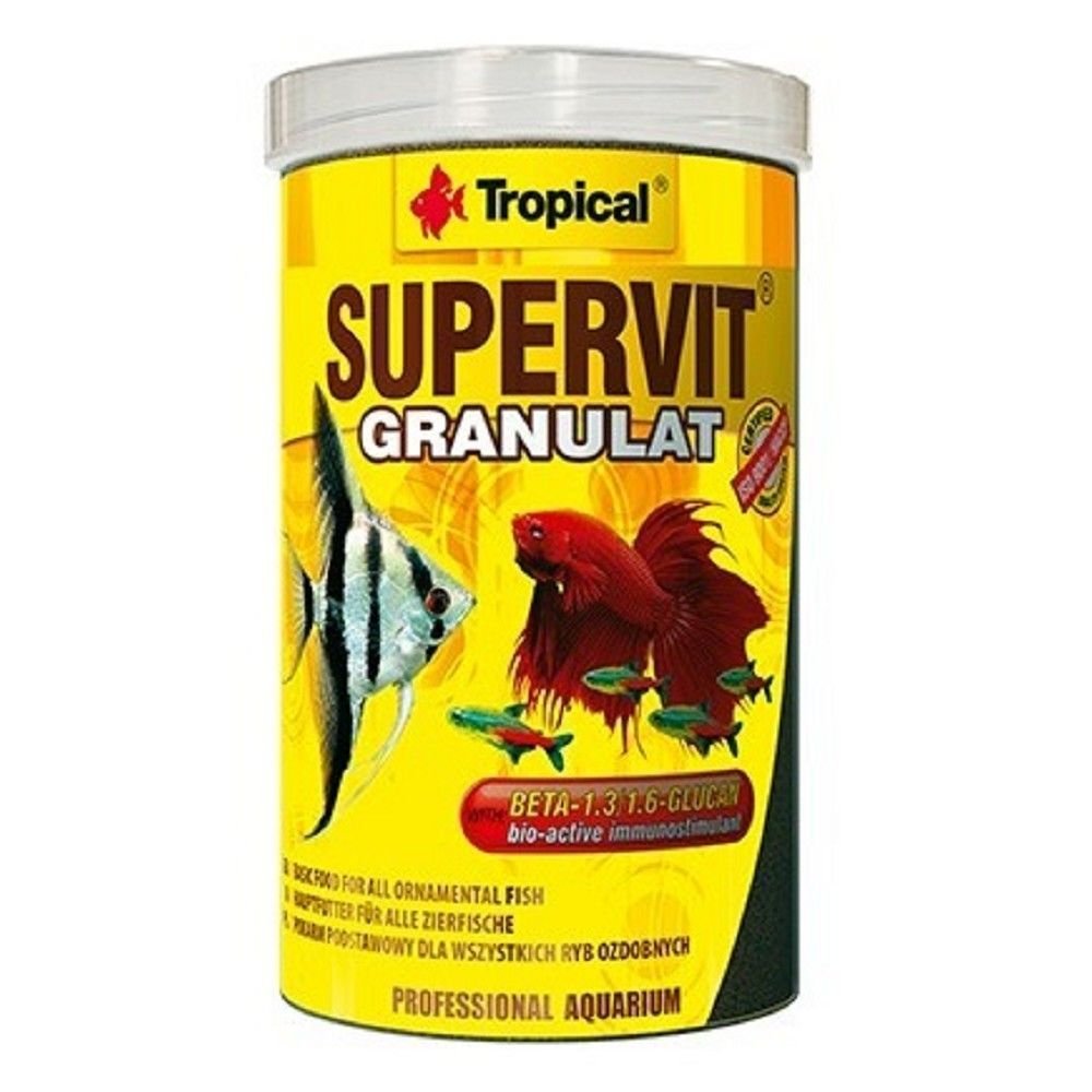 Tropical Supervit granulát 100ml Ostatní