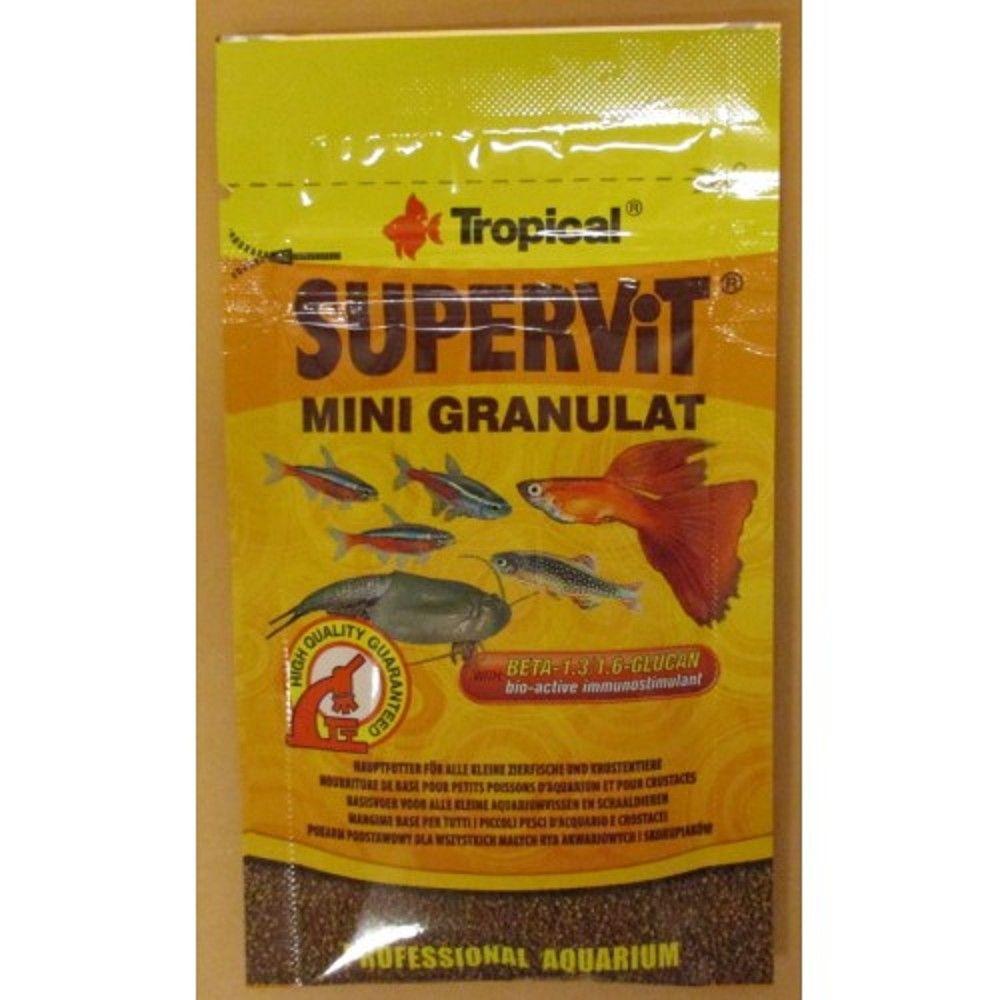 Tropical Supervit Mini granulát 10g sáček Ostatní