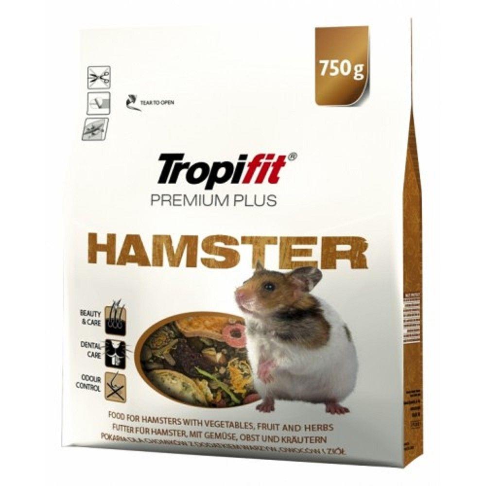 Tropifit 750g Hamster premium plus- krmivo pro křečky Ostatní