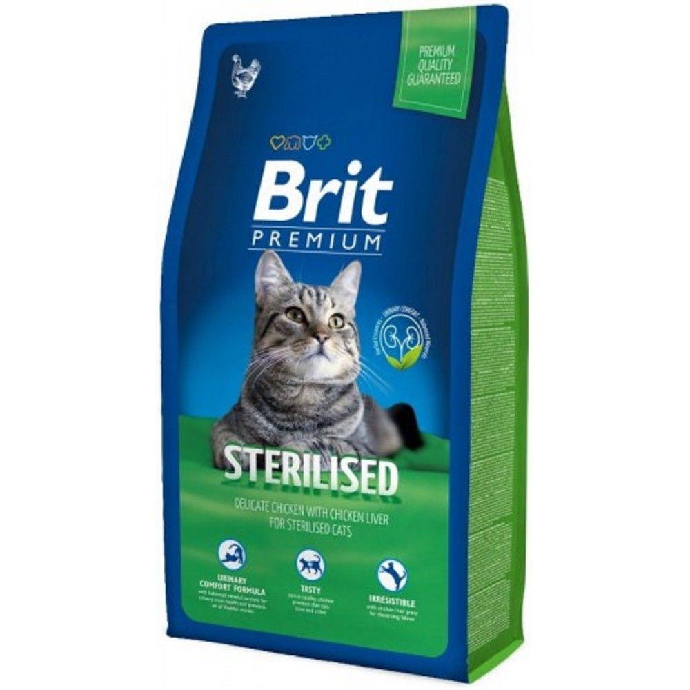 Brit premium 8,0kg cat Sterilised