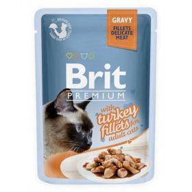 Brit premium 85g cat kaps.filety s krocanem ve šťávě 1ks