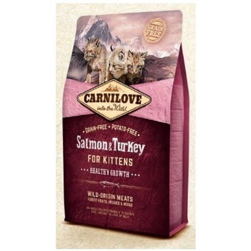 Carnilove 6kg Kitten Salmon+Turkey cats