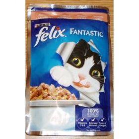 Felix 100g kaps.losos v želé