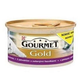 Gourmet  85g gold jehněčí a zelené fazolky Savoury Cake 94