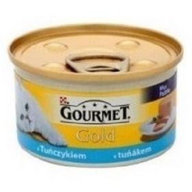 Gourmet  85g gold paštika tuňák cat